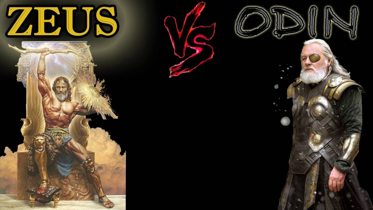 zeus vs odin 26042018  so i just finished god of war(goty) and i'm very interested to see where the kings of the gods stand vs each other they are their mythological selves.