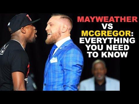 Floyd Mayweather Jr. Vs. Conor McGregor Fight   Las Vegas Live On August 26, 2017