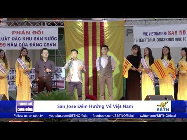 PHÓNG SỰ CỘNG ĐỒNG: Đêm hướng về Việt Nam tại San Jose với Việt Khang, Nguyên Khang & Mai Thanh Sơn