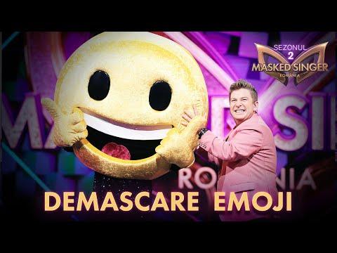 Emoji și-a dezvăluit identitatea la Masked Singer România. Carla's Dreams era sub mască