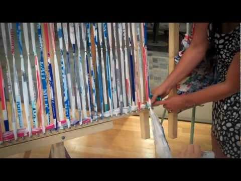 Making Mattresses From Milk Bags