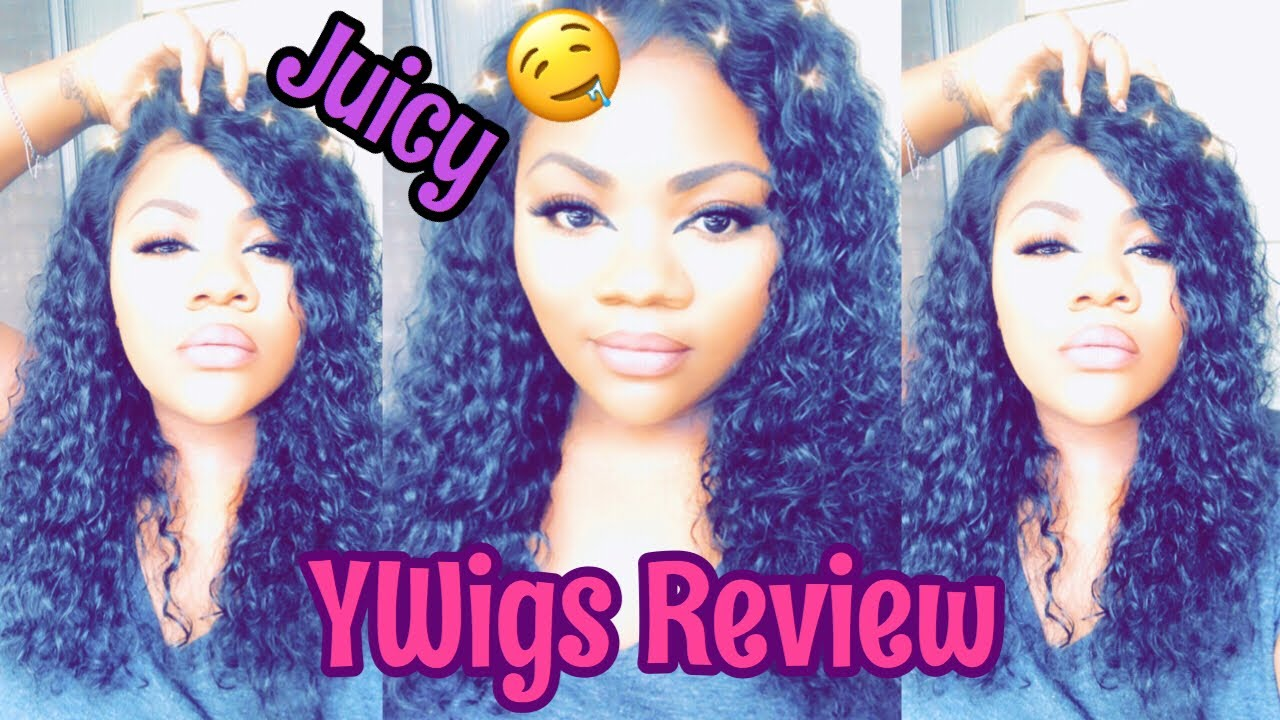 Big Ol Juicy Curls 🤤 BOMB Curly 13x6 Glueless Wig ft. YWigs | Nicki Nicole