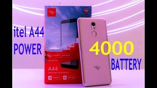 itel a44 POWER 4000MAH BATTERY WITH FULL SPECIFICATION
