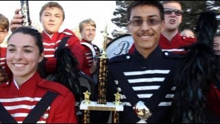 Beyer High School Marching Band Interview - Modesto, California