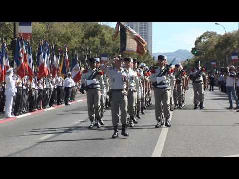 Défilé du 14 juillet 2014 à Marseille