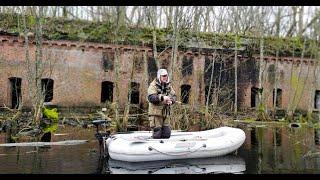 Рыбалка в заброшенной крепости Ловля на кружки Новая попытка поймать здесь Щуку