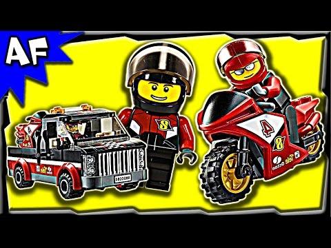 Lego City Racing Bike Transporter Instructions