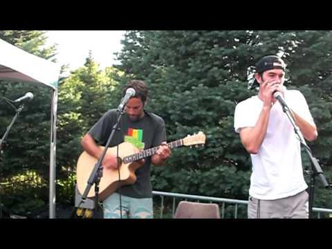 Jack Johnson, G. Love, Zach Gill (Mudfootball) Blossom Music Center Ohio