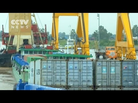 China-Cambodia collaboration results in new port