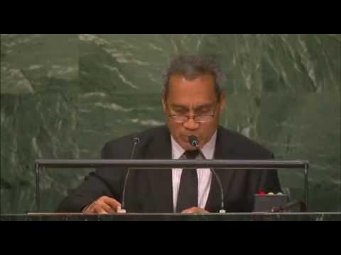 Kiribati – Débat 2015 de l'Assemblée générale de l'ONU