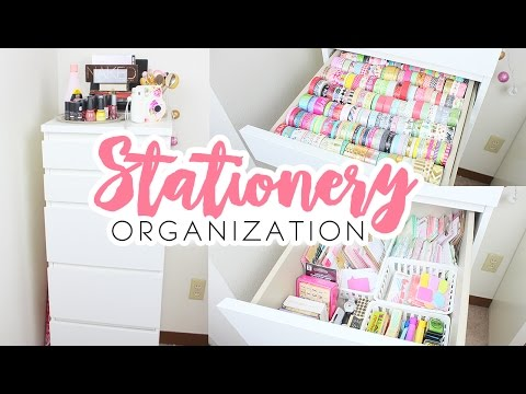 Stationery Organization/ Storage