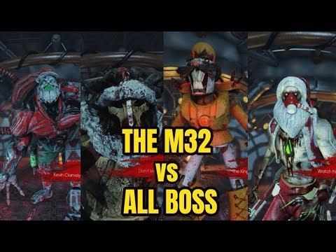 Killing Floor 2 HoE | The M32 Grenade Launcher Vs All Boss |