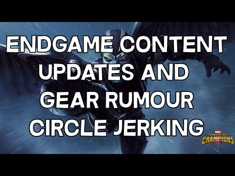 V12.0 Endgame Content Changes and Gear Rumour Circle Jerking - Marvel Contest Of Champions