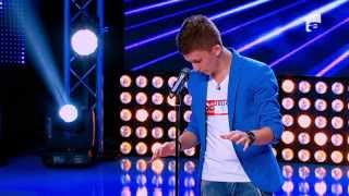Roberto Velisar - Ray Charles - &quotGeorgia on my mind&quot - X Factor Romania, sezonul t ...