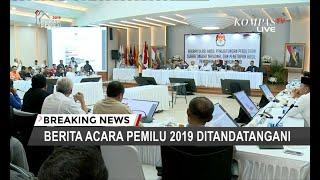 Detik-detik KPU Dihujani Interupsi oleh Partai Kubu Prabowo-Sandi