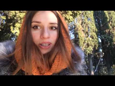 Снег в Ялте!! Массандровский парк. Крым 2017\The Black Sea
