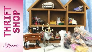Thrift Shop Hop Toy Sale Haul - Doll House, Sven the Reindeer, Sewing Machine