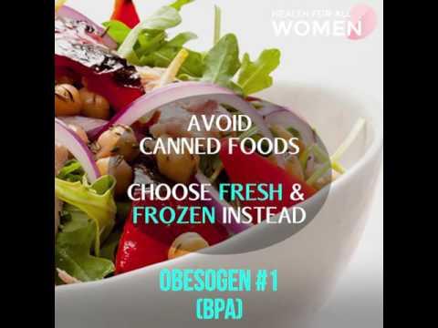 Obesogens in food disrupt your hormones