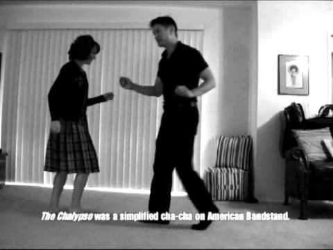 1950's And Early '60's Rock N' Roll Dance Demo For The Blue Jean Bop