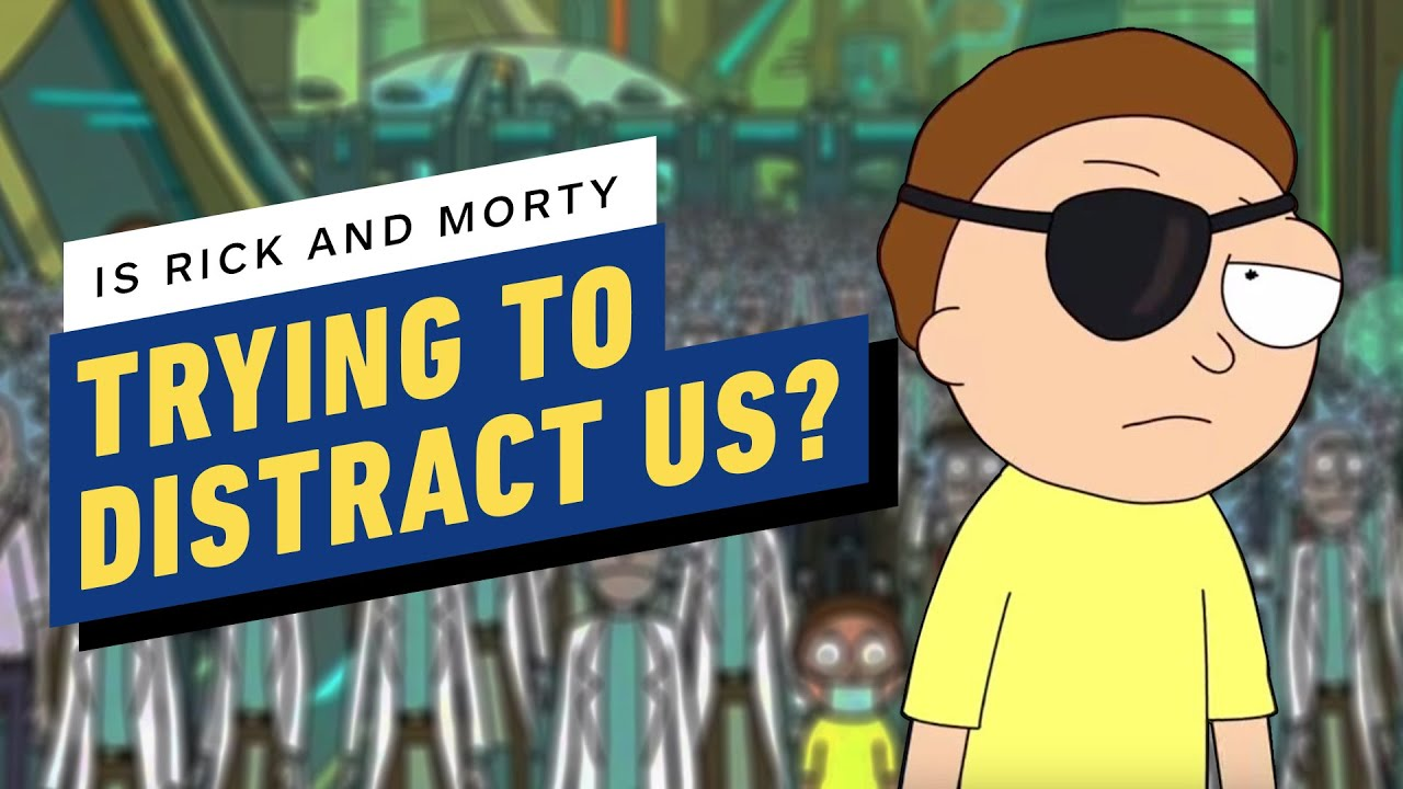 ¿Está Rick y Morty temporada 4 tratando de distraernos del plan de Evil Morty? + vídeo