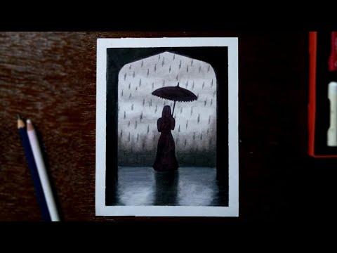 dark-rainy-seasons-drawing-with-oil-pastels