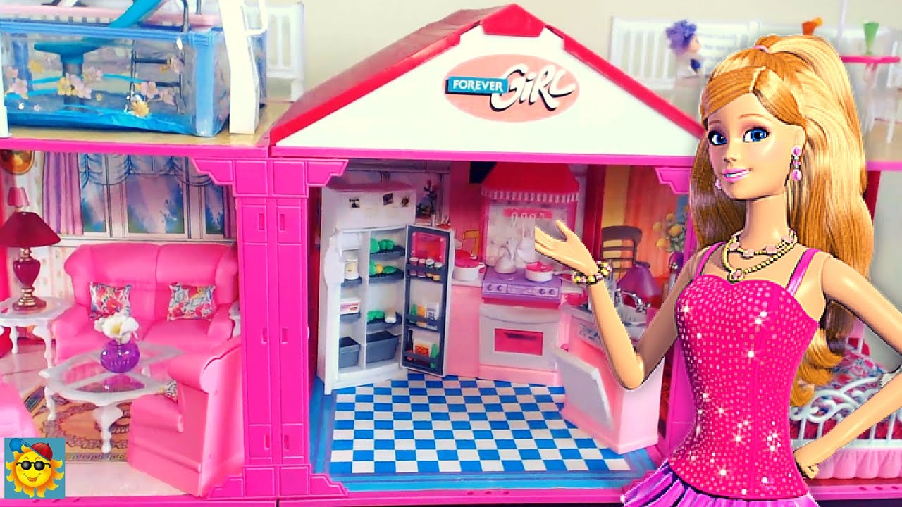 Juegos de barbie la casa de barbie 2016 youtube - Supercasa de barbie ...