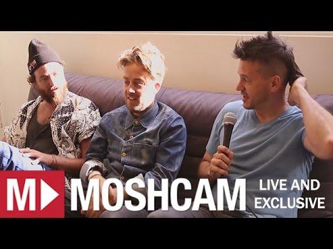 The Acid (Adam Freeland, Steve Nalepa & RY X) talk Liminal, synths & cuddles | Moshcam Interview