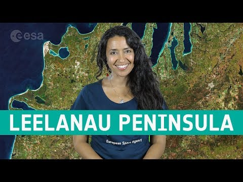 Earth from Space: Leelanau Peninsula