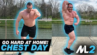 STUPID CHEST PUMP! - Resistance-Band Workout Day 12 - Daily Home Workout with Marc Lobliner