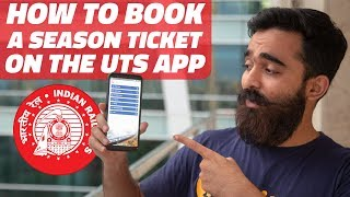 How to Book a Season Train Ticket Using the UTS App