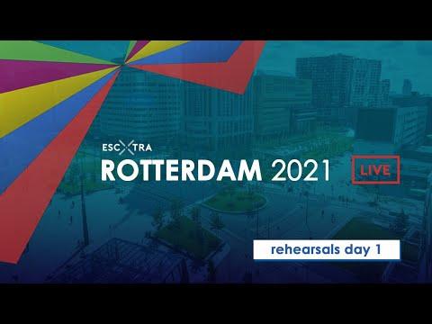 EUROVISION REHEARSALS LIVE | ROTTERDAM 2021 | DAY 1