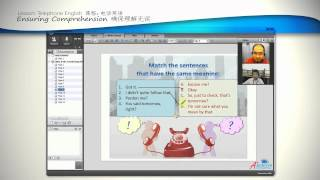 A-Plus English Online Video: Telephone English | How to improve English speaking skills Image