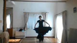 Improvisation dance (based on flamenco)with a pianist Piano Mieko S...