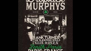Dropkick Murphy's Tour Paris Promo