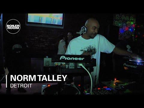 Norm Talley Boiler Room Detroit DJ Set