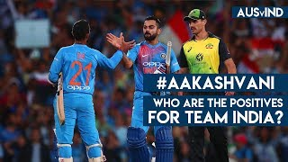 Positives for #INDIA from the T20I series: #AakashVani
