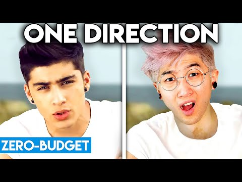 ONE DIRECTION WITH ZERO BUDGET What Makes You Beautiful