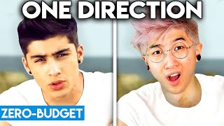 Download ONE DIRECTION WITH ZERO BUDGET! (What Makes You Beautiful PARODY) Mp3 and Videos