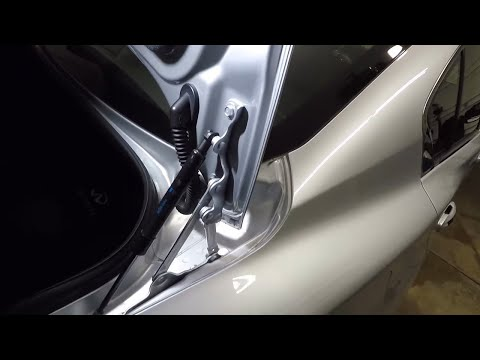 How to install trunk struts on a 2015 INFINITI Q50S