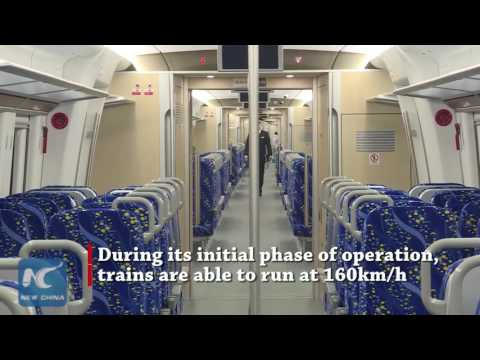 Inter-city high speed rail in C China opens for test run