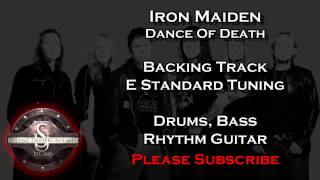 Iron Maiden - Dance Of Death - Backing Track + Rhythm Guitar