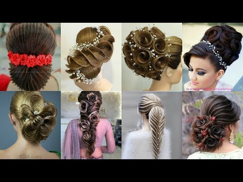 top-stylish-hairstyle-arabian-hairstyles-different-patterns-pins-ribbon-flowerused-with-unique-ideas