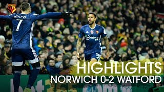 Deulofeu's 76 Second Goal 😱 & Gray's Cheeky Backheel   🤭 | Norwich City 0 2 Watford Highlights