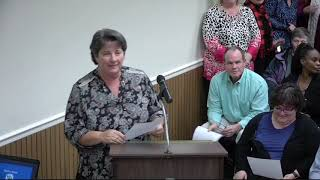December 2019 Mcdowell County Board Of Commissioners Meeting  Nc