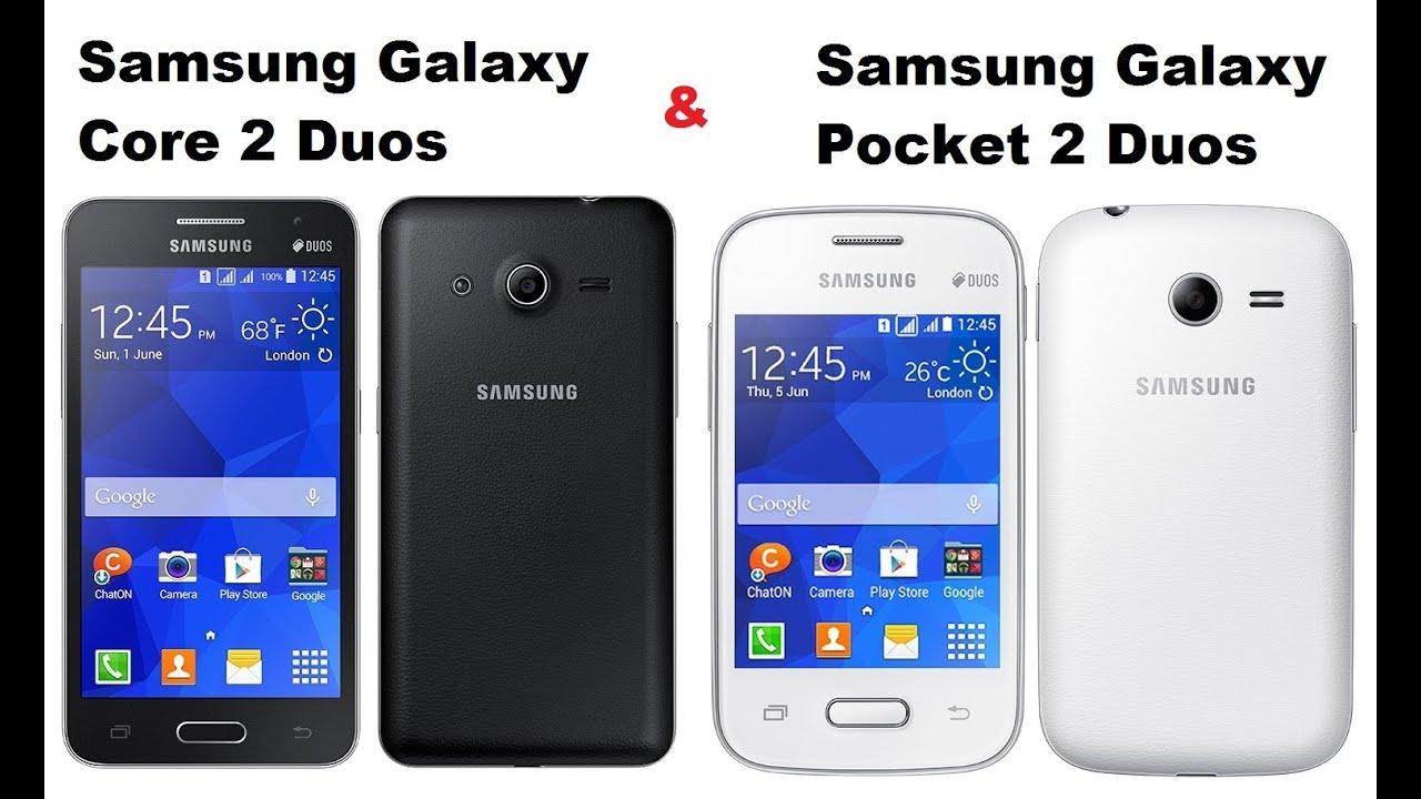 Samsung Galaxy Core 2 Duos  U0026 Samsung Galaxy Pocket 2 Duos
