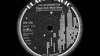 The Sharonettes - Papa Oom Mow Mow