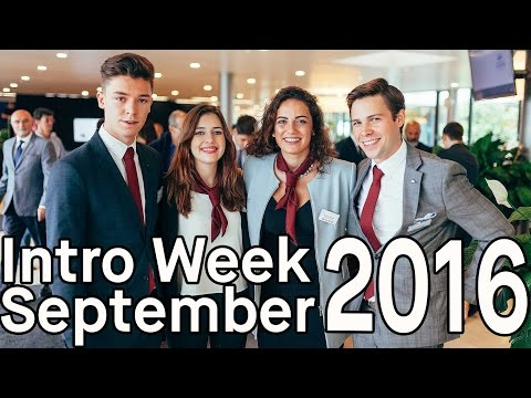 EHL Intro Week September 2016