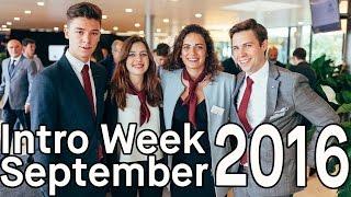 EHL Intro Week September 2016