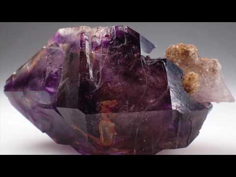 #35  Zambezi Valley Amethyst Quartz Crystal, Zimbabwe