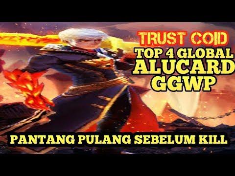 TRUST Co|D GAMEPLAY WITH HERO ALUCARD- PANTANG MUNDUR SEBELUM KILL MUSUH - MOBILE LEGENDS